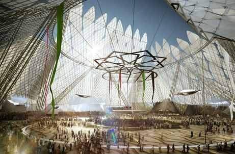 Three firms have been picked to design pavilions for Dubai Expo 2020.
