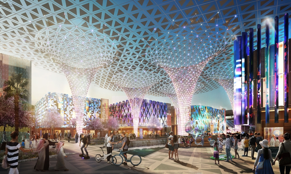 Cimolai Rimond has been awarded the contract to build the steel structure for Al Wasl Plaza.