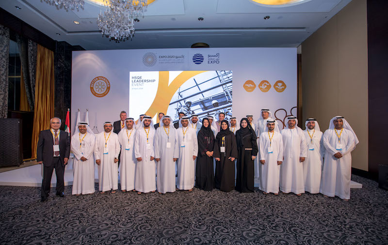 Expo 2020 Dubai's HQSE event was attended by construction contractors, sub-contractors, project managers, regulators, and partners.
