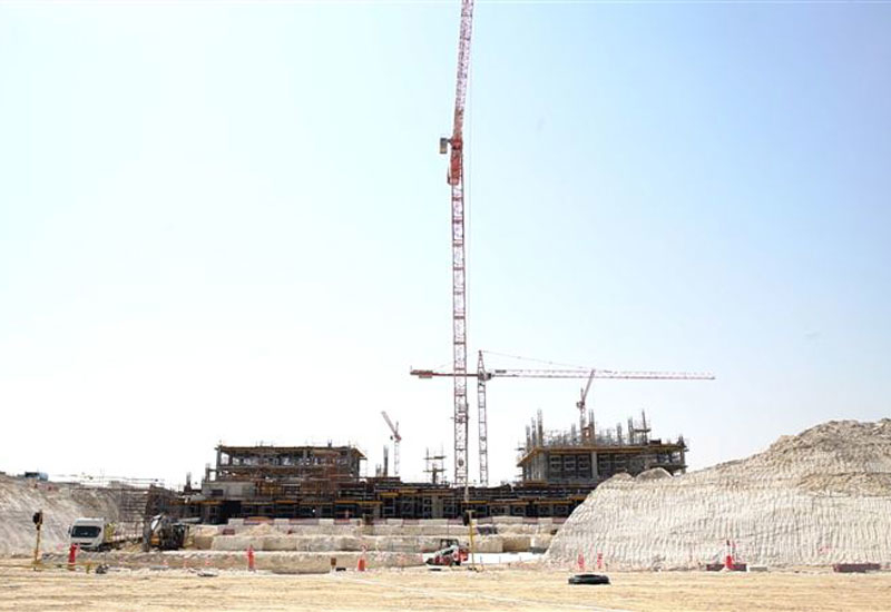 Construction work is progressing on the Expo 2020 site [image: Dubai Media Office].