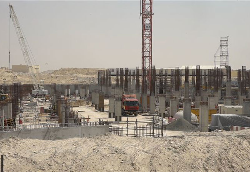 17km of roads have been developed to support site access [image: Dubai Media Office].