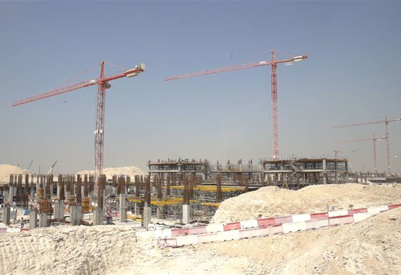 Three DEWA substations are nearing completion on-site [image: Dubai Media Office].
