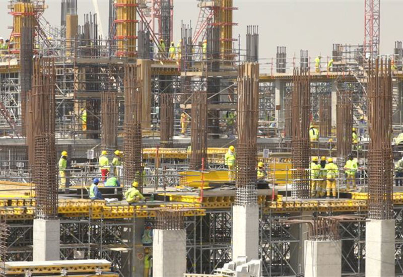 All heavy construction works will be completed by 2019, the expo's organisers said [image: Dubai Media Office].