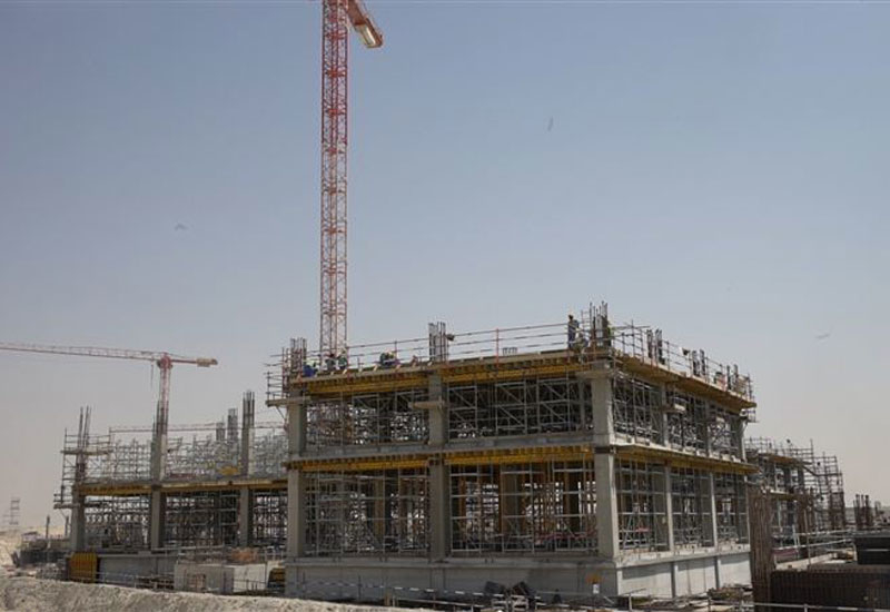 17 projects are underway on site, and numerous others will begin by April 2018 [image: Dubai Media Office].