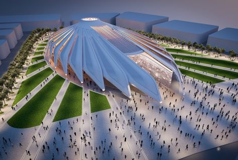 The UAE Pavilion will be located in the centre of Expo 2020 Dubai's 4.38km<sup>2</sup> exhibition area.