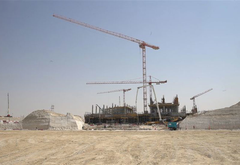 Above-ground construction progress has been recorded at the Expo 2020 site in Dubai [image: Dubai Media Office].