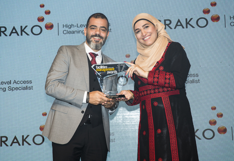 Khidmah's Salam Ilayyan was named Facilities Manager of the Year.