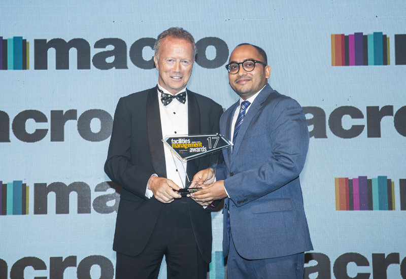 ECM was rewarded for its sustainability programme.