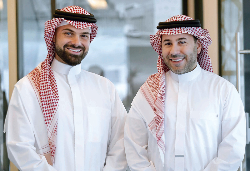 Faisal Bouzo (left) and Tarek Al Ajlani (right), co-founders and managing partners of C&P.
