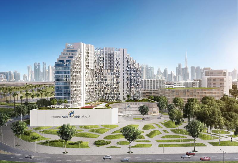 The Farhad Azizi development in Dubai Healthcare City.