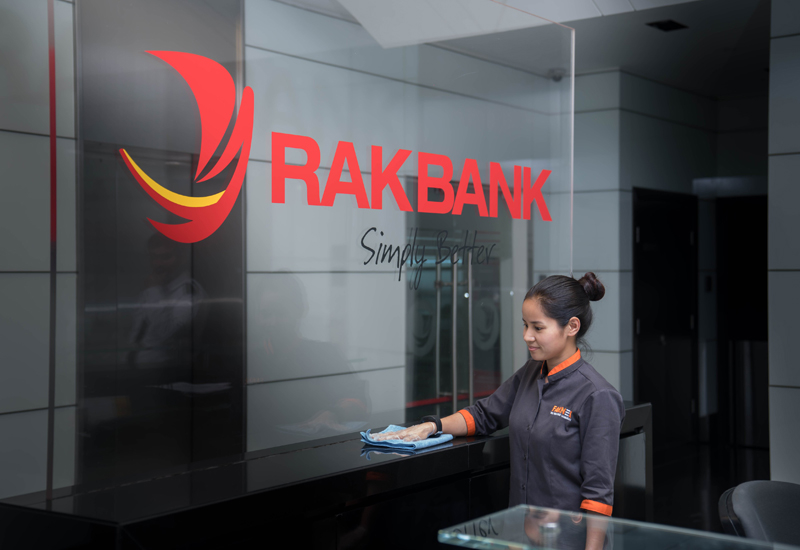 Farnek has scooped a two-year cleaning services contract with the UAE's RAKBank.