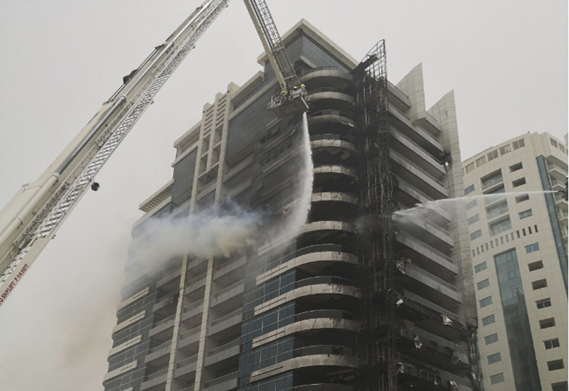 Zen Tower's fire may have started on the ground floor.