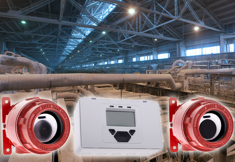 Capable of covering wide areas of up to 1,500m2, the Fireray 3000 Exd provides early warning of highly smoke-generative fires.