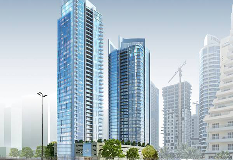 An escrow deal has been signed for Bahrain's Fontana Infinity Towers in Juffair. [Image: Facebook / Kooheji Group]