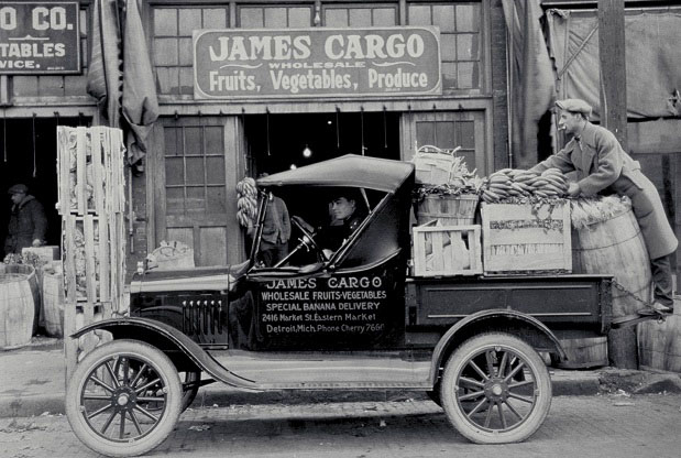 A Ford Model T Runabout in 1925.