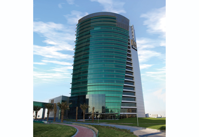 Located in Bahrain Financial Harbour, GBCorp Tower boasts a gross leasable area (GLA) of approximately 19,000m<sup>2</sup>.