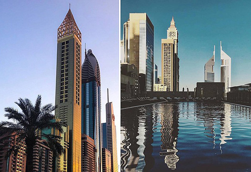 Gevora Hotel will reportedly be the world's tallest hotel upon its launch [image: Time Out Dubai].