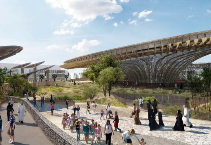 The Dutch Pavilion will be located within Expo 2020 Dubai's Sustainability District [image: Dubai Expo 2020 / Government.NL].