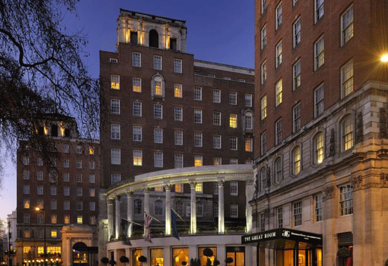 Sahara bought the Grosvenor House Hotel from the Royal Bank of Scotland in 2010 for $615m.