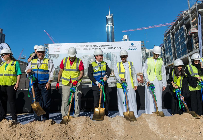 Groundbreaking at 25hours One Central.