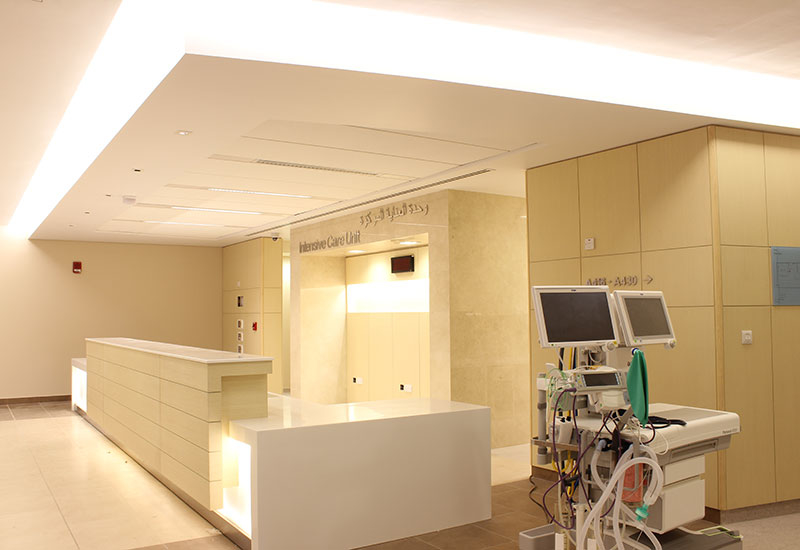 Abu Dhabi's Mafraq Hospital is a President's Prize Award winner.