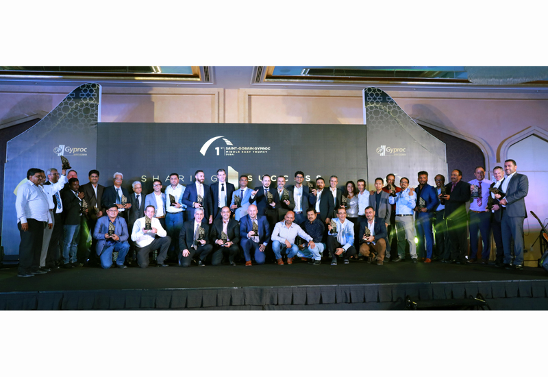 The inaugural Saint-Gobain Gyproc Middle East Trophy event was held in Dubai on 13 September, 2017.