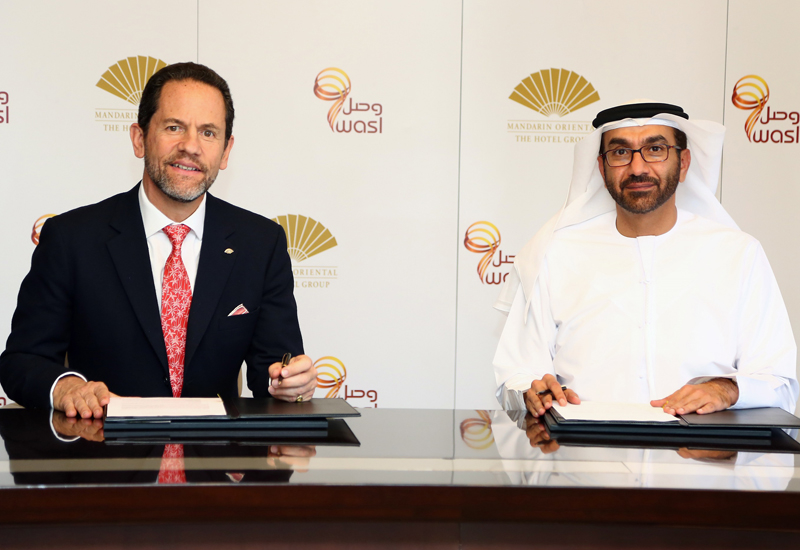 wasl Asset Management Group signs deal for second Mandarin Oriental hotel in Dubai.