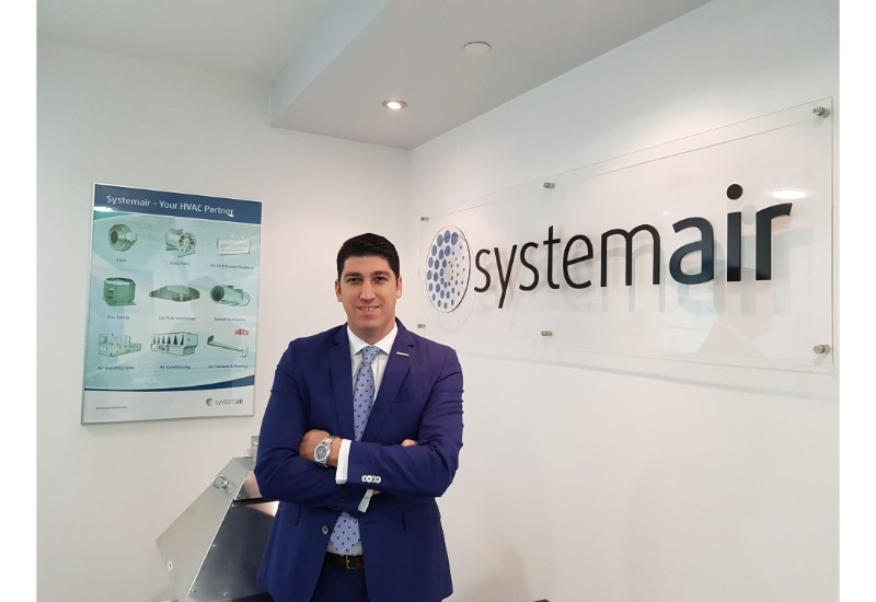 Hakan Akman, product sales manager air conditioning, Systemair Middle East.
