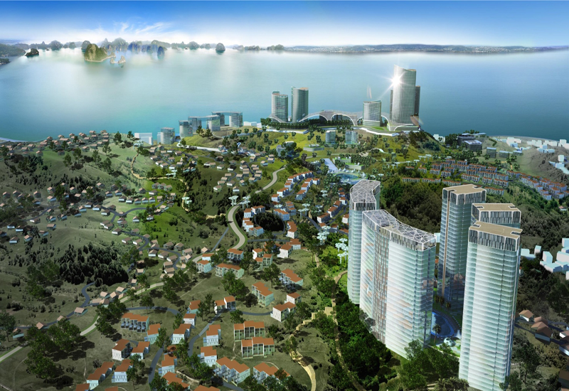 Halong Star will feature 340 villas and apartments, retail and leisure facilities and a five star hotel.