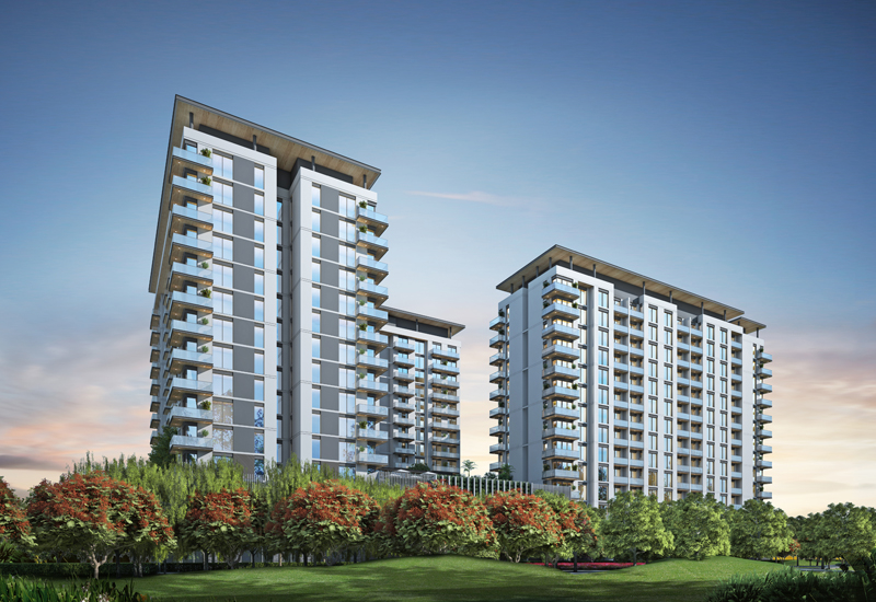 Hartland Aflux will be developed as part of Phase III of Dubai's Sobha Hartland Greens project.
