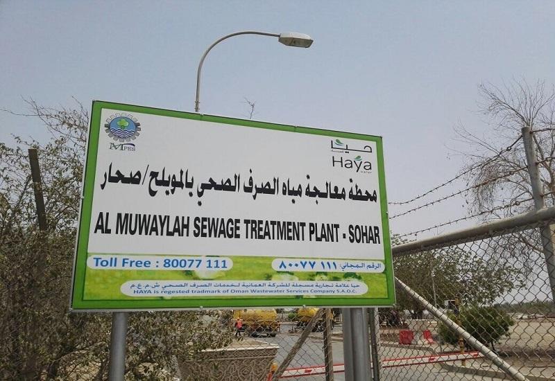 Haya Water has taken over Sohar's wastewater assets [image: ONA].