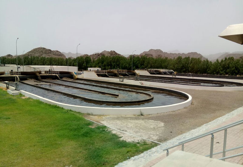 Haya Water is implementing numerous projects at Nizwa STP [image: ONA].