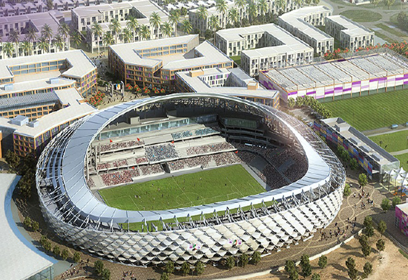 The stadium is first-of-its-kind in the GCC to receive green certification.