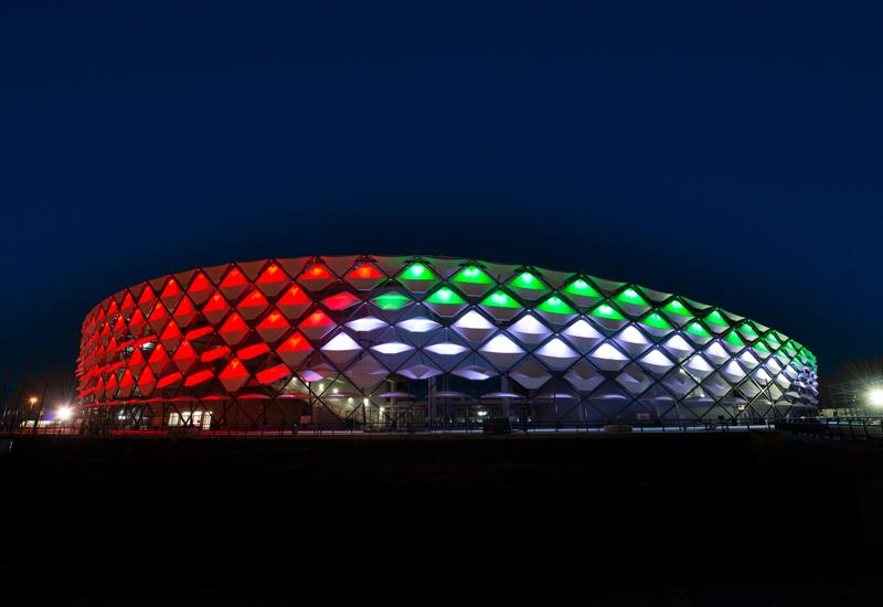 RMAD supplied concrete for Hazza Bin Zayed Stadium.