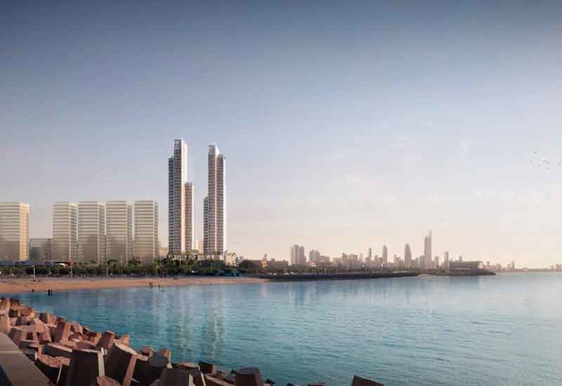 URC's Hessah Towers is a Kuwaiti development designed and conceptualised by Dar SSH and Nabil Gholam Architects.