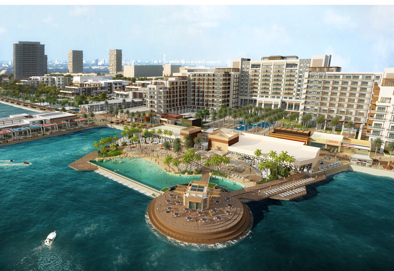 The hotel will be part of the 3.3bn Yas Bay development in Abu Dhabi.