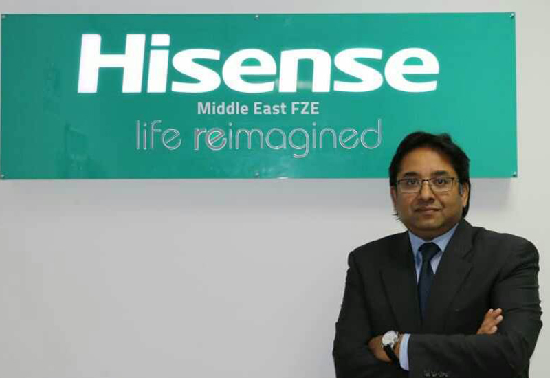Moan Abraham, VP and GM for Air Conditioning at Hisense Middle East (pictured above).
