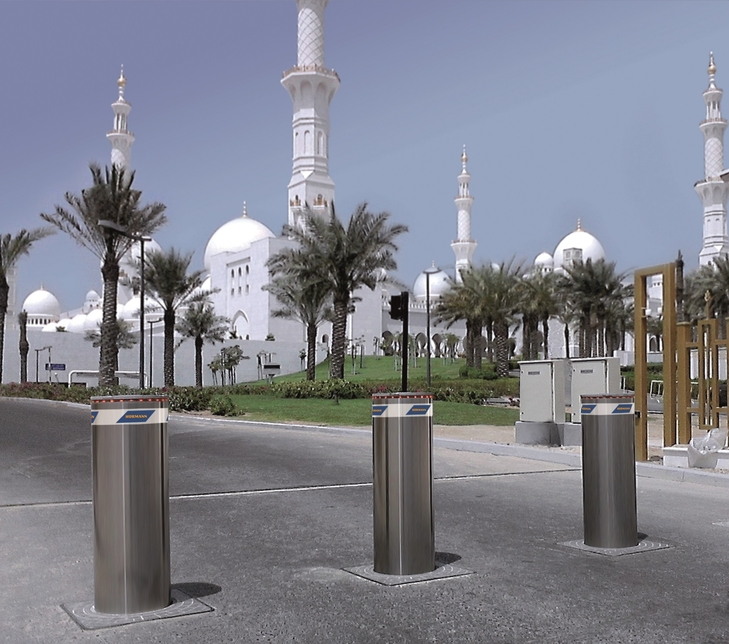 Bollards provide a high security, discreet solution for traffic control.