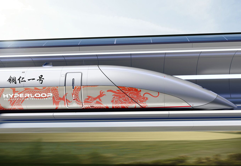 Hyperloop TT will bring the ultra-fast network to China.