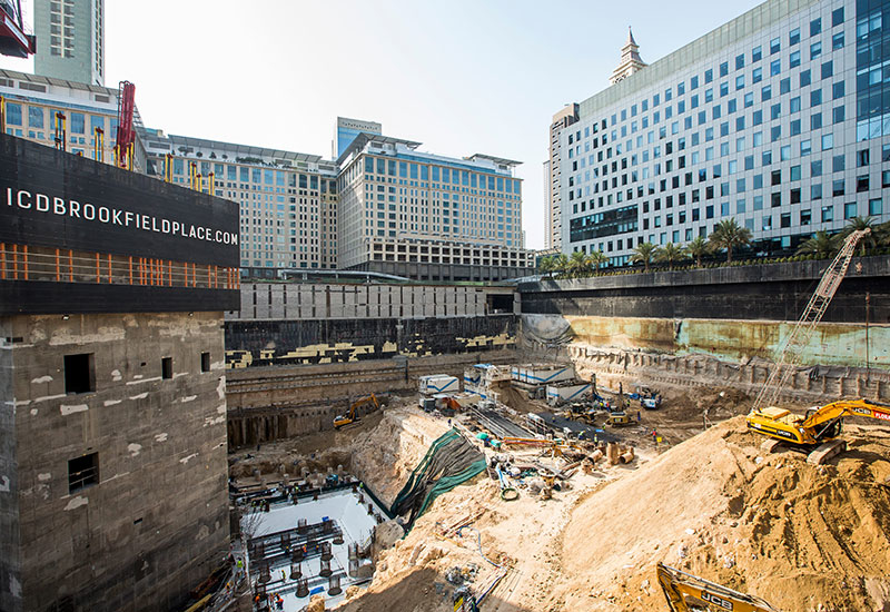 Eaton will work on the ICD Brookfield Place project in Dubai's DIFC neighbourhood.