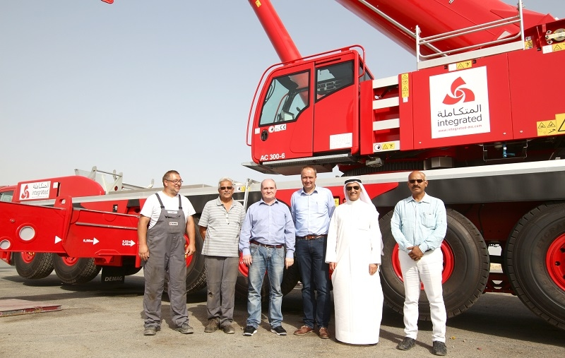 ILC plans to put the cranes to work at several construction sitesin the Gulf region.