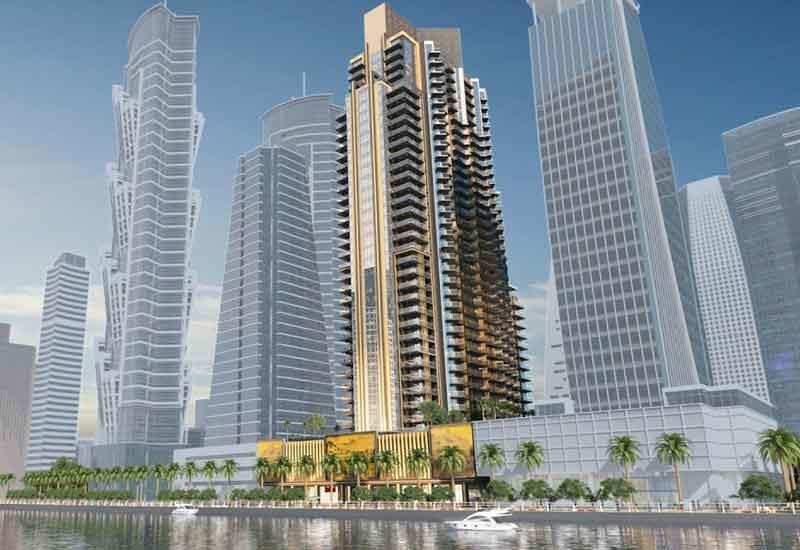 Downtown Dubai's I Love Florence Tower is Dar Al-Arkan's first project outside Saudi Arabia [image: YouTube/Dar Al-Arkan].