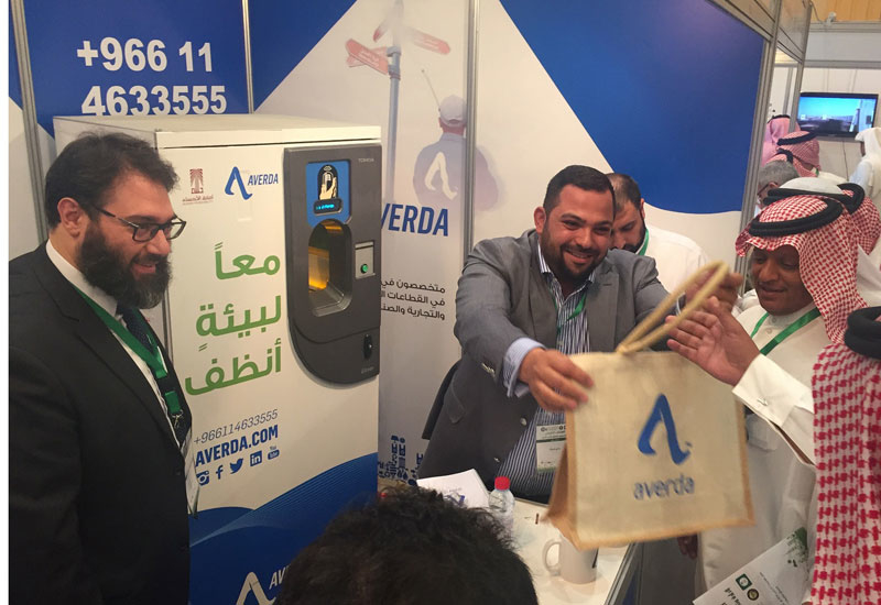 Averda performed live demonstrations of its recycling technologies at the annual forum.