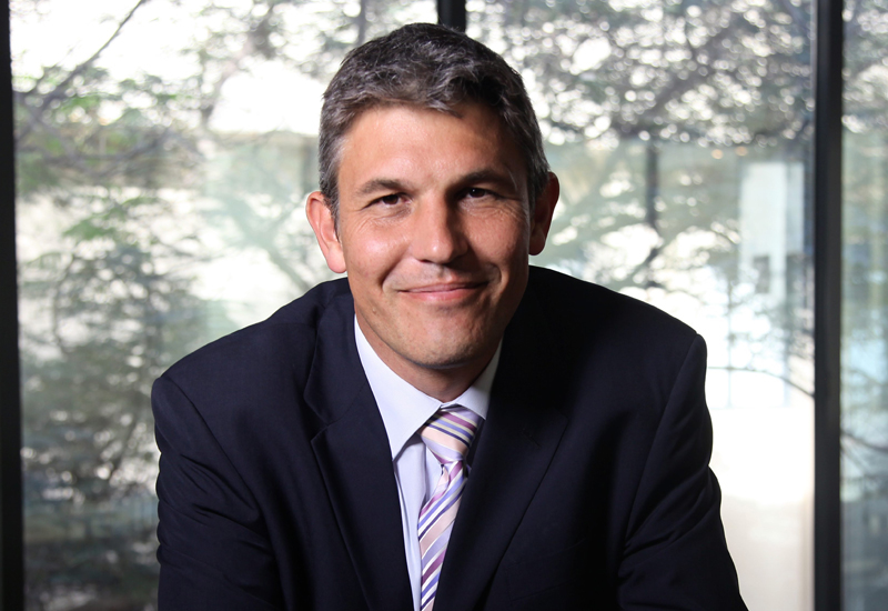 Ian Harfield, CEO of Cofely Besix Facility Management.