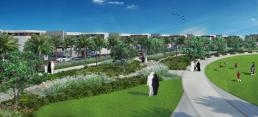 Landscaping set to kick off at the luxurious beachfront neighborhood.