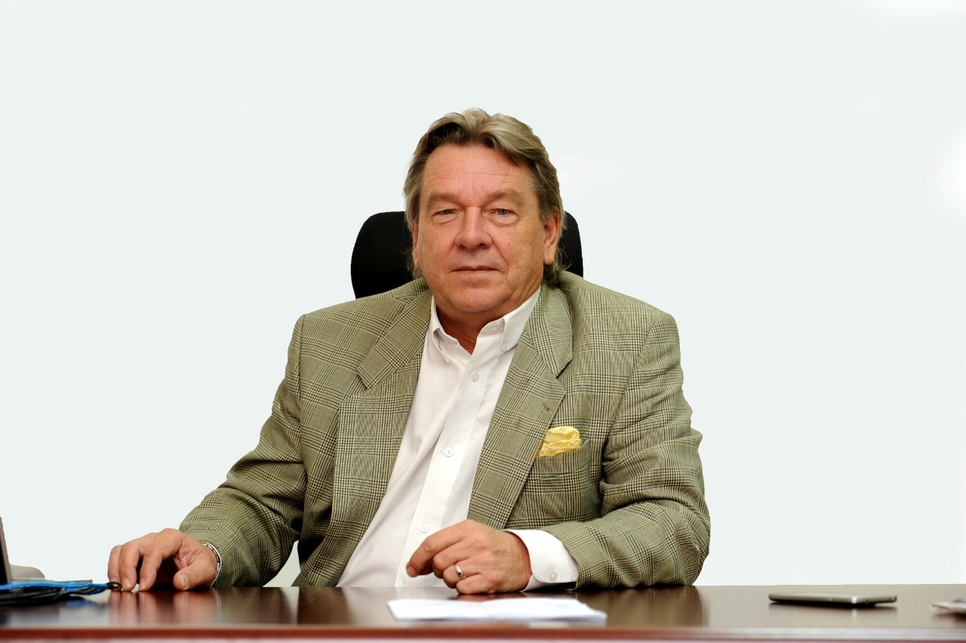 Robert Holtkamp, CEO, National Aluminium Products Company.