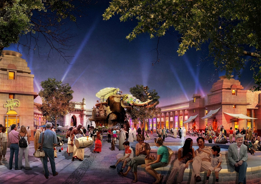 NEWS, Business, Dubai, Dubai Parks and Resorts, Inauguration, Motiongate, Opening, Theme park