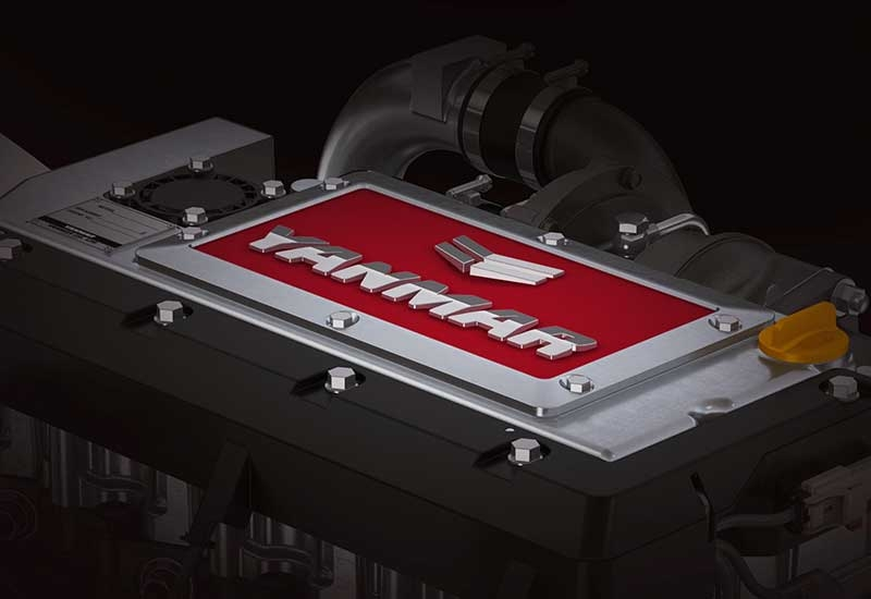 Yanmar engine.