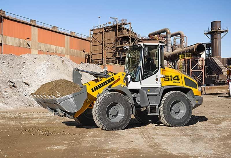 Liebherr L514 wheel loader.