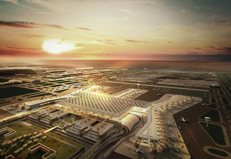 Thyssenkrupp has scooped a contract to supply 143 passenger boarding bridges (PBB) for Turkey's Istanbul New Airport.